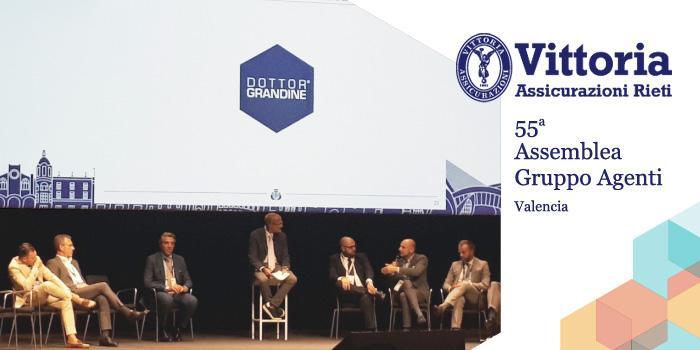 Giorgio Riso interviene alla assemblea agenti di Vittoria Assicurazioni